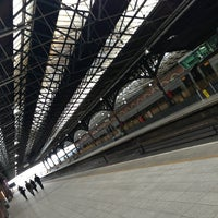 Photo taken at Dublin Connolly Railway Station by Estefanía J. on 6/19/2013