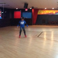 Photo taken at Starlite Skating Center by Adriana R. on 12/1/2013