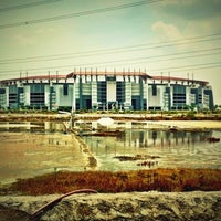 Photo taken at Stadion Gelora Bung Tomo by Andrie W. on 11/2/2012