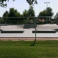 Photo taken at Freestone Skate Park by David P. on 7/3/2013