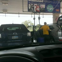 Photo taken at Mister Car Wash & Express Lube by David P. on 4/19/2014