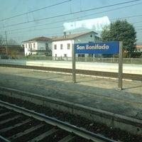 Photo taken at Stazione FS San Bonifacio by Mario C. on 11/24/2012