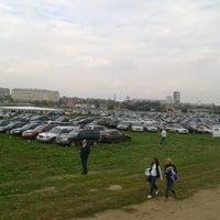 Photo taken at Аэродром Тушино by Evgeniy B. on 9/15/2012