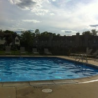 Photo taken at Hidden Cove pool by Giannhs M. on 6/25/2013