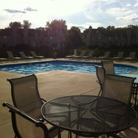 Photo taken at Hidden Cove pool by Giannhs M. on 6/24/2013