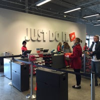 Photo taken at Nike Outlet by Kevin B. on 1/16/2016