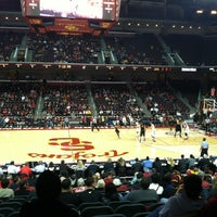 Photo taken at Galen Center (GEC) by Christopher H. on 11/26/2012