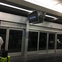 Photo taken at SFO AirTrain Station - Garage A by Josh E. on 7/12/2017
