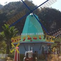 Photo taken at Dairy Hut Farm & Restaurant by Susie on 4/13/2014