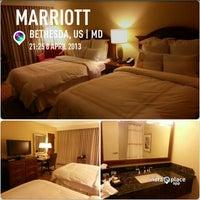 4/9/2013 tarihinde Susieziyaretçi tarafından Bethesda Marriott'de çekilen fotoğraf