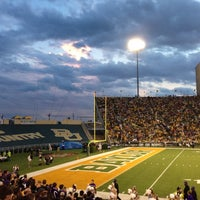 Photo taken at Floyd Casey Stadium by Marcus F. on 10/14/2012