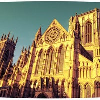 Photo taken at York Minster by Lidia C. on 12/23/2012