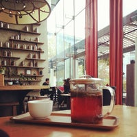 Photo taken at Samovar Tea Lounge by Anne W. on 10/11/2012