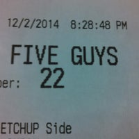 Photo taken at Five Guys by Eric A. on 12/3/2014