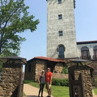 Photo taken at Heublein Tower Observation Deck by Cathy on 5/25/2018