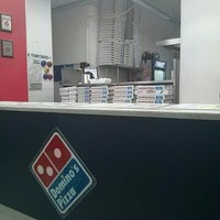 Photo taken at Domino's Pizza Centenario by Jorge G. on 2/4/2014