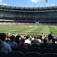 Photo taken at Melbourne Cricket Ground (MCG) by Paul G. on 12/25/2012