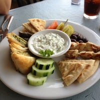 Photo taken at El Greco Cafe by Amber D. on 9/29/2012
