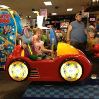 Photo taken at Chuck E. Cheese's by Teresa S. on 8/24/2013