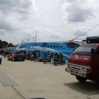 Photo taken at Pelabuhan Pangkalabalam by Agung P. on 7/23/2014
