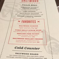 Photo taken at Saltwood Charcuterie & Bar by Kenny C. on 1/6/2017