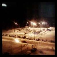 Photo taken at Каток by Владимир П. on 1/19/2013
