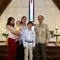 Photo taken at Gereja Katolik Santo Yohanes Penginjil by Shinta D. on 6/18/2017