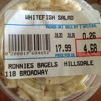 Photo taken at Ronnie's Bagels by Rich S. on 7/20/2013