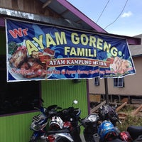 Photo taken at Ayam Goreng Family by Tommy M. on 4/27/2014