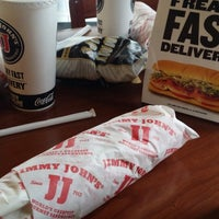 Photo taken at Jimmy John's by Jerry L. on 1/21/2014