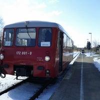Photo taken at Bahnhof Mirow by Torsten M. on 3/25/2013