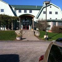 Photo taken at Fox Run Vineyards by Robert on 11/16/2012