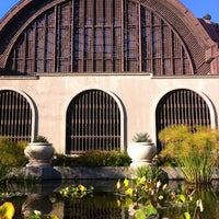 Photo taken at Botanical Building & Lily Pond by KLoreth C. on 10/28/2012