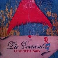 Photo taken at La Corriente Cevichería Nais by KLoreth C. on 10/24/2012