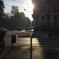 Photo taken at Corso Sempione by Matteo L. on 10/30/2017
