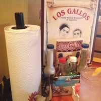 Photo taken at Los Gallos Authentic Mexican Restaurant and Sports Cantina by Cyndee D. on 7/18/2013