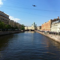 Photo taken at Пикалов мост by 🎾Dimichpit on 5/30/2013