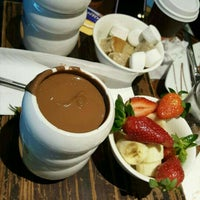 Photo taken at Max Brenner Chocolate Bar by Mariama R. on 6/13/2016