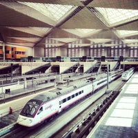 Photo taken at Estación de Zaragoza - Delicias by Pablo O. on 1/9/2013