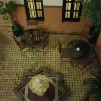 Photo taken at Riad Agdim by Pablo O. on 3/2/2017