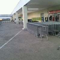 Photo taken at Carrefour by Jack U. on 1/20/2013