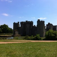 Photo taken at Bodiam Castle by Dana S. on 6/8/2013