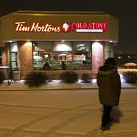 Photo taken at Tim Hortons by aecadean on 1/7/2015