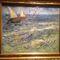 Photo taken at Gallery of 19th and 20th century European and American Art by Elizaveta K. on 10/27/2012