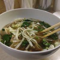 Снимок сделан в Lucky Noodles пользователем Elizaveta K. 2/2/2013