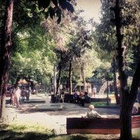 Photo taken at Yeni Cuma Camii by Necmettin G. on 6/9/2013