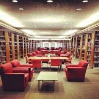 Photo taken at Estelle and Melvin Gelman Library by Ian F. on 12/2/2012