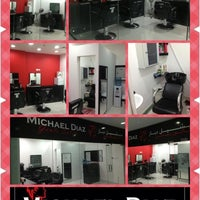 Photo taken at Michael Diaz Gents Salon by Chain T. on 9/18/2013