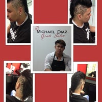 Photo taken at Michael Diaz Gents Salon by Chain T. on 9/25/2013