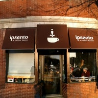 Photo taken at Ipsento Coffee House by Jeremiah T. on 11/21/2012